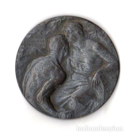 Medallas históricas: MEDALLA ESPOSIZIONE INTERNAZIONALE MILANO 1906 - Foto 2 - 254182355