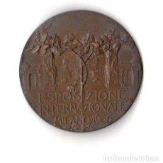 Medallas históricas: MEDALLA ESPOSIZIONE INTERNAZIONALE MILANO 1906. Lote 254182355