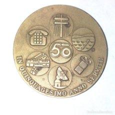 Medallas históricas: MEDALLA 50 AÑOS CREACIÓN DE LA C.T.N.E. DEL 1975. Lote 254282495