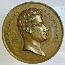 Medallas históricas: ESTADOS PONTIFICIOS. PIO IX. MEDALLA REV/CARLO ALBERTO 1846. Lote 255426010