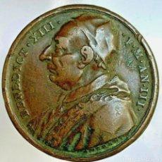 Medallas históricas: ESTADOS PONTIFICIOS. BENEDICTO XIII MEDALLA ANUAL 1726 AÑO III. Lote 255426275