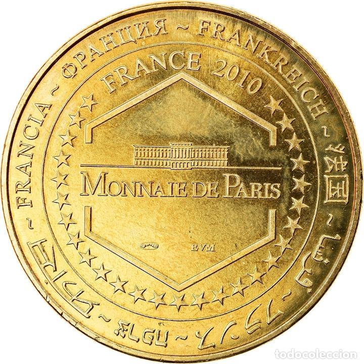 Medallas históricas: Francia, Token, Jetón turístico, Douai - M Gayant, Arts & Culture, 2010, MDP - Foto 2 - 255670635