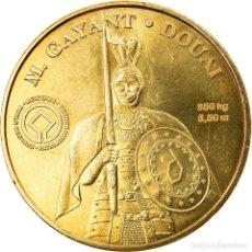 Medallas históricas: FRANCIA, TOKEN, JETÓN TURÍSTICO, DOUAI - M GAYANT, ARTS & CULTURE, 2010, MDP. Lote 255670635