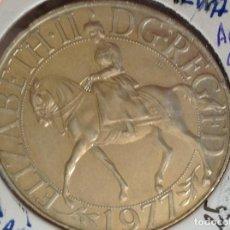 Medallas históricas: 25 AÑOS EN EL TRONO ELISABETH II. Lote 255975885