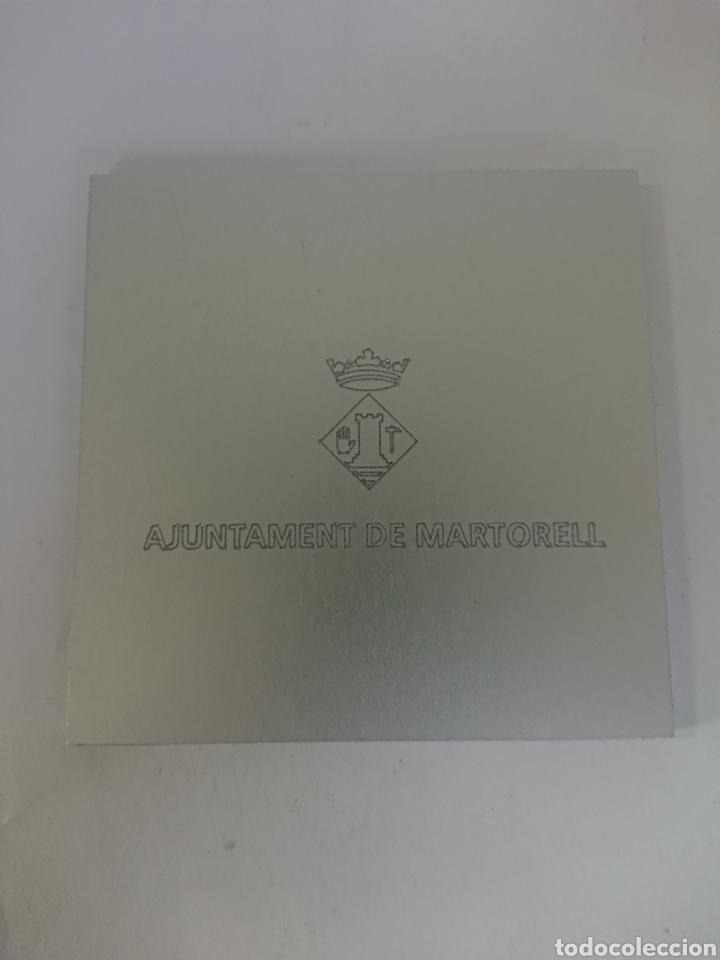 Medallas históricas: MEDALLA AJUNTAMENT DE MARTORELL 150 ANIVERSARI DE LARRIBADA DEL TREN A MARTORELL 23 JUNY 1859-2009 - Foto 2 - 256042045