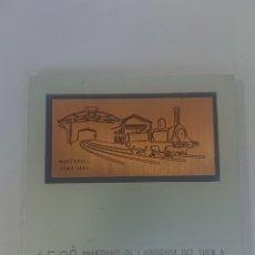 Medallas históricas: MEDALLA AJUNTAMENT DE MARTORELL 150 ANIVERSARI DE L'ARRIBADA DEL TREN A MARTORELL 23 JUNY 1859-2009. Lote 256042045