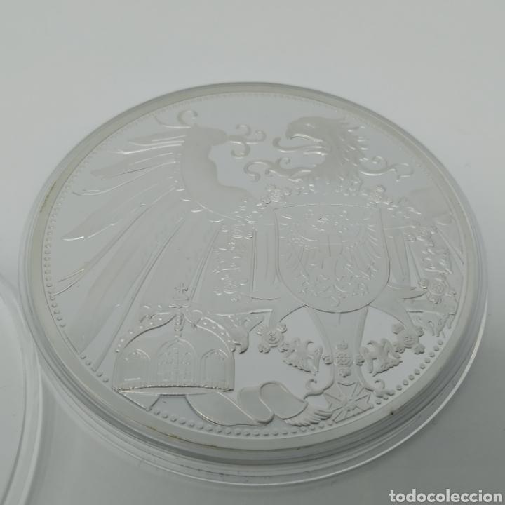Medallas históricas: Medalla o Medallón conmemorativo de la moneda de 20 marcos de 1914, FRIEDERICH II - Foto 2 - 256046370
