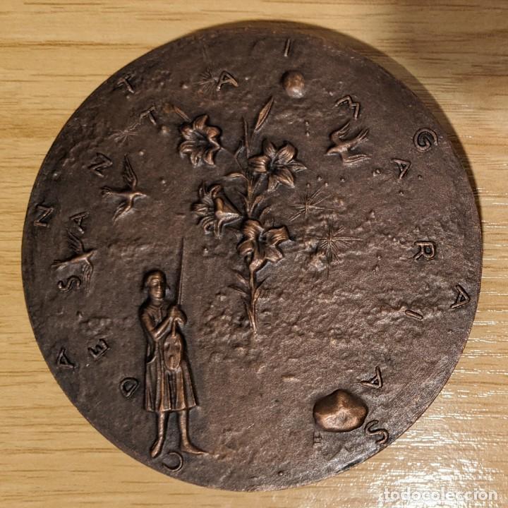 ESPAÑA. MEDALLA F.N.M.T. ALFONSO X EL SABIO LAS CANTIGAS (Numismática - Medallería - Histórica)