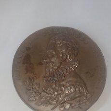 Medallas históricas: MEDALLA MIGUEL DE CERVANTES SAAVEDRA III CENTENARIO DE LA PUBLICACION DEL QUIJOTE 1605-1905. Lote 257321360