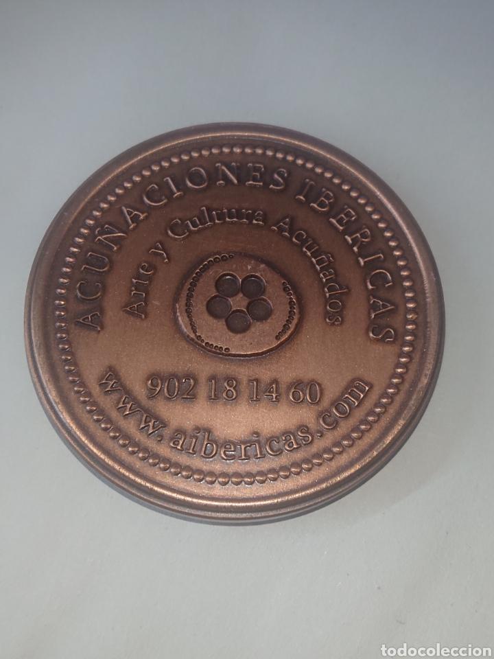 Medallas históricas: MEDALLA DON QUIJOTE 1605-2005 ACUŃACIONES IBERICAS ARTE Y CULTURA ACUŃADOS - Foto 2 - 257322550