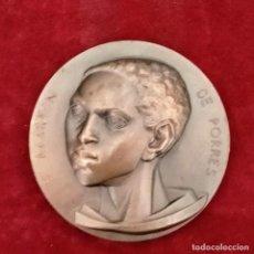 Medallas históricas: MEDALLA -S MARTÍN DE PORRES. PALENCIA- FNMT. FIRMADA FJ. FERNANDO JESÚS.. Lote 257979900