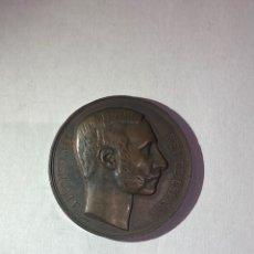 Medaglie storiche: MEDALLA CONMEMORATIVA-MUERTE DEL REY ALFONSO XII 1885- PESO 49 GRAMOS Y DIÁMETRO 48 MM.. Lote 260553710