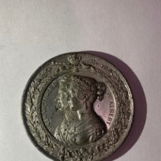 Medallas históricas: MEDALLA- LONDON 1851 QUEEN VICTORIA & PR ALBERT INDUSTRIAL EXHIBITION. Lote 260556525