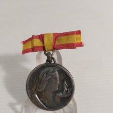 Medallas históricas: MEDALLA DE PLATA FERIA DE BARCELONA DE 1949. Lote 261197700