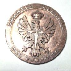 Medallas históricas: MEDALLA BRONCE CUARTEL GENERAL DEL EJERCITO - MASPE-. Lote 262119065