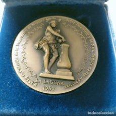 Medallas históricas: 5 SIGLOS LA LAGUNA 1496 1996LA LAGUNA R M I Y C. COFRADIA DE LA FLAGELACION DE NUESTRO SEÑOR JESUCR. Lote 264805649