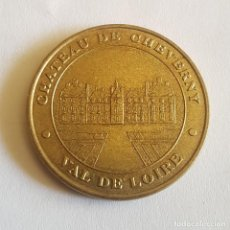 Medallas históricas: MEDALLA FRANCESA/CHATEAU DE CHENONGEAU/VAL DE LOIRE. Lote 265490709