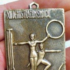 Medallas históricas: MEDALLA DEL SINDICATO VERTICAL DE LA FALANGE , ÉPOCA FRANCO. Lote 265714079
