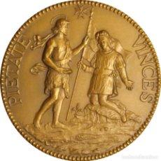 Medallas históricas: MALTA. CONSEJO DE EUROPA. MEDALLA XIII EXHIBICIÓN DE ARTE EUROPEO. 1.970. BRONCE. C/ESTUCHE ORIGINAL. Lote 266322953