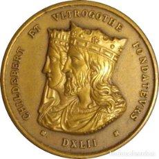 Medallas históricas: FRANCIA. MEDALLA DEL HOSPITAL CIVIL DE LYON. 1.845. BRONCE. Lote 266434953
