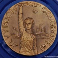Medallas históricas: MEDALLA 20 ANIVERSARIO PRIMAVERA DE PRAGA.. Lote 267516719