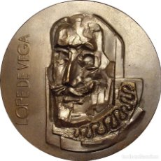Medallas históricas: ESPAÑA. MEDALLA F.N.M.T. HOMENAJE AL ESCRITOR LOPE DE VEGA. 1.962. COBRE. Lote 268150069