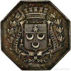 Medallas históricas: [#717060] FRANCIA, TOKEN, NOTAIRES DE L'ARRONDISSEMENT DE CHÂTEAUDUN, EBC, PLATA. Lote 269180503