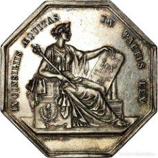 Medallas históricas: [#718562] FRANCIA, TOKEN, NOTAIRES DE L'ARRONDISSEMENT D'ANGERS, PACOT, EBC+, PLATA. Lote 269187188