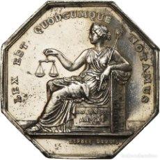 Medallas históricas: [#719911] FRANCIA, TOKEN, LOUIS PHILIPPE IER, NOTAIRES DE L'ARRONDISSEMENT DE DIEPPE. Lote 269187203