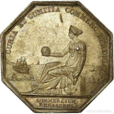 Medallas históricas: [#717205] FRANCIA, TOKEN, CHAMBRE DE COMMERCE DE BORDEAUX, TIOLIER, MBC+, PLATA. Lote 269187606