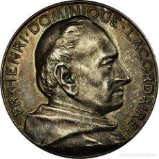 Medallas históricas: [#717142] FRANCIA, TOKEN, HENRI DOMINIQUE LACORDAIRE, ECOLE LEGRAND, RELIGIONS & BELIEFS. Lote 269187610
