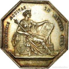 Medallas históricas: [#717050] FRANCIA, TOKEN, NOTARY, NOTAIRES DE L'ARRONDISSEMENT D'ANGERS, PACOT, EBC. Lote 269188282