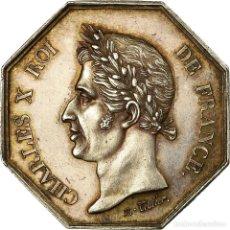 Medallas históricas: [#716922] FRANCIA, TOKEN, CHARLES X, CONSEIL MUNICIPAL DU HAVRE DE GRACE, 1828, TIOLIER. Lote 269188314
