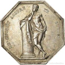 Medallas históricas: [#2257] FRANCIA, TOKEN, CASINOS ET JEUX, DE PUYMAURIN, EBC, PLATA. Lote 269188318