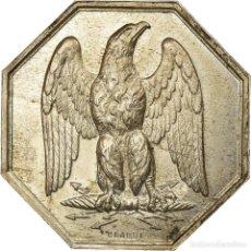 Medallas históricas: [#719529] FRANCIA, TOKEN, INSURANCE, L'AIGLE, ASSURANCES CONTRE L'INCENDIE, 1843, CRABBE. Lote 269190043