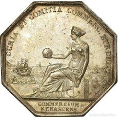 Medallas históricas: [#717147] FRANCIA, TOKEN, CHAMBRE DE COMMERCE DE BORDEAUX, TIOLIER, EBC, PLATA. Lote 269191073