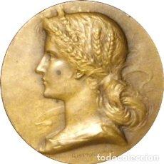 Medallas históricas: FRANCIA. MEDALLA DELA CAJA DE AHORROS DE LA ROCHELLE. BRONCE. Lote 269313183