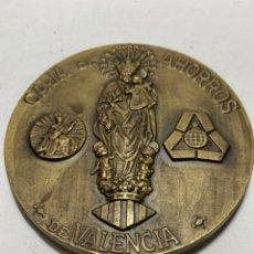Medallas históricas: MEDALLA CONMEMORATIVA DE BRONCE, CENTENARIO CAJA DE AHORROS DE VALENCIA (1878 - 1978). Lote 269468503