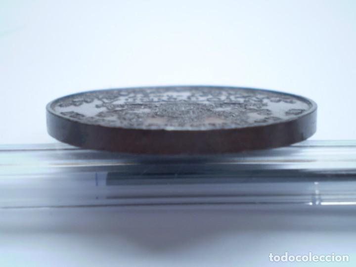 Medallas históricas: 76SCD14 Gran Bretaña 1897 Jubileo de Diamantes de la Reina Victoria medalla de bronce - Foto 7 - 269982353