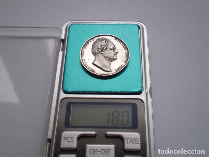 Medallas históricas: 65SCD14 Gran Bretaña 1831 Coronación de William IV y Adelaida medalla oficial de la Royal Mint - Foto 8 - 269982598