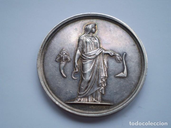 Medallas históricas: 79SCD14 Francia 1861 Comice Agricole de Dreux medalla de plata - Foto 2 - 269983108