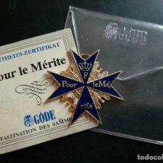 Medallas históricas: MEDALLA POOR LE MERITÉ. Lote 269991338