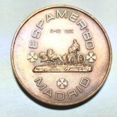 Medallas históricas: MEDALLA DE BRONCE EXPOSICIÓN FILATELICA EXPAMER 80. Lote 271034548