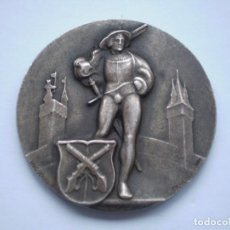 Medallas históricas: 83SCD14 SUIZA LUCERNA MEDALLA FESTIVAL DE TIRO 1930 PLATA. Lote 274005158