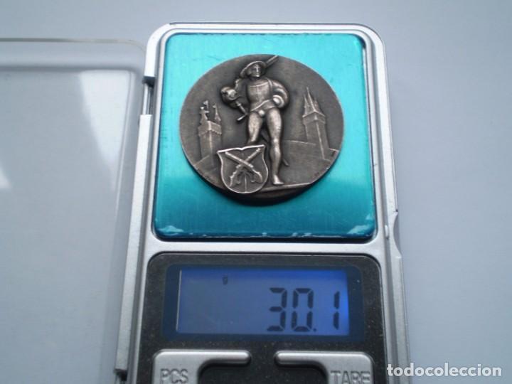 Medallas históricas: 83SCD14 Suiza Lucerna Medalla Festival de Tiro 1930 plata - Foto 5 - 274005158