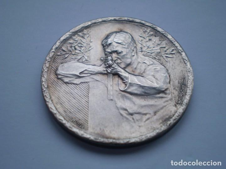 Medallas históricas: 85SCD14 Suiza Neuchatel (Chaux de Fonds) medalla de plata Festival de Tiro 1913 - Foto 3 - 274011428