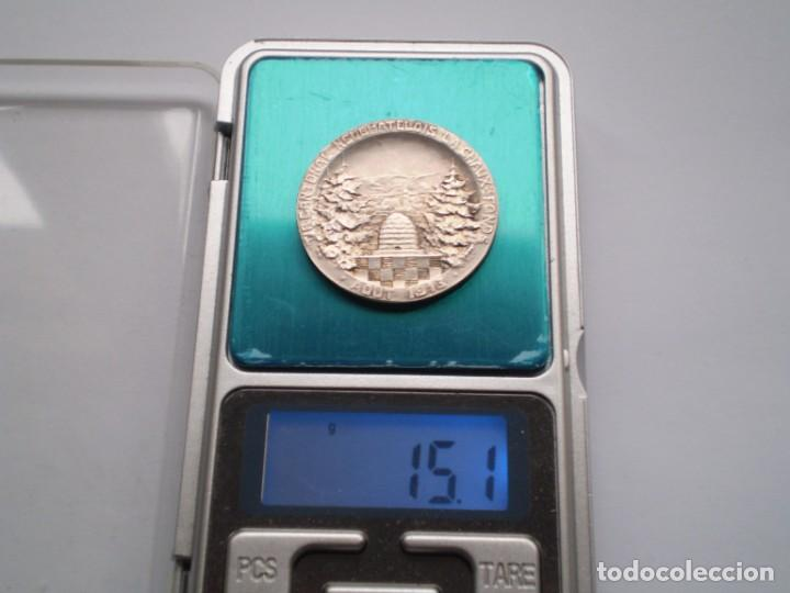 Medallas históricas: 85SCD14 Suiza Neuchatel (Chaux de Fonds) medalla de plata Festival de Tiro 1913 - Foto 6 - 274011428