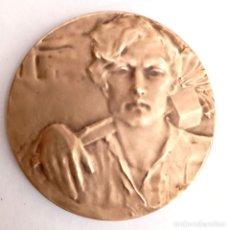Medallas históricas: MEDALLA BRONCE RECONOCIMIENTO EN EL TRABAJO A LA MUJER ALEMANIA. Lote 274225038
