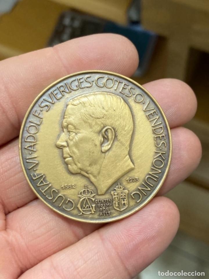 ANTIGUA MEDALLA SUECA A CLASIFICAR (Numismática - Medallería - Histórica)