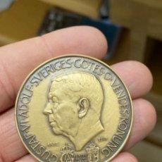 Medallas históricas: ANTIGUA MEDALLA SUECA A CLASIFICAR. Lote 276793473